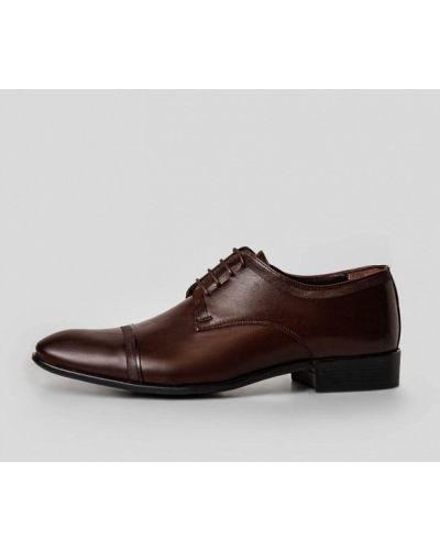 Кожаные коричневые туфли Arber