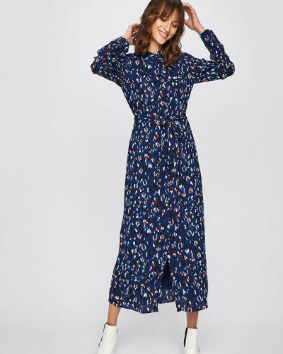 Платье миди свободного кроя на пуговицах Vero Moda