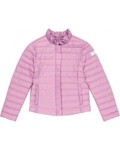 Фиолетовая стеганая пуховая куртка Il Gufo