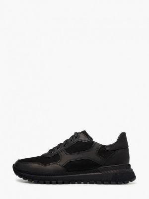 Черные зимние кроссовки Pierre Cardin