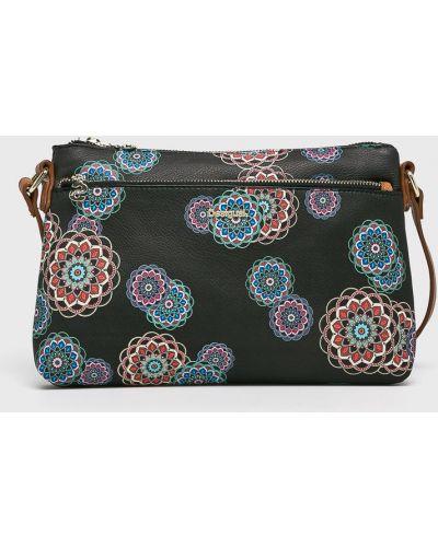 Кожаный сумка через плечо маленькая Desigual