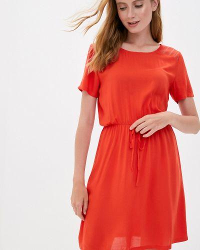 Красное прямое платье Jacqueline De Yong