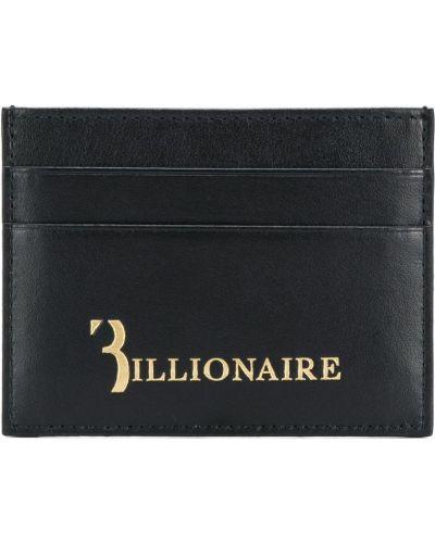 Визитница черная Billionaire