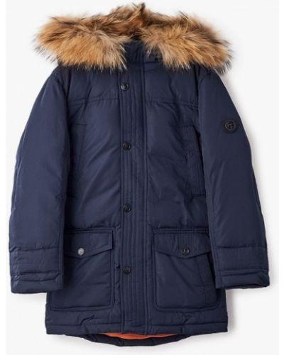 Свободная теплая черная куртка Finn Flare