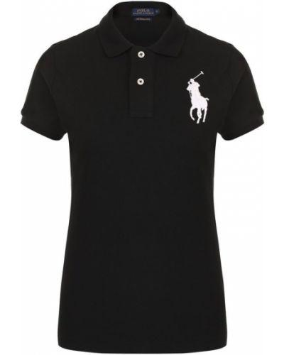 Поло с логотипом приталенное Polo Ralph Lauren