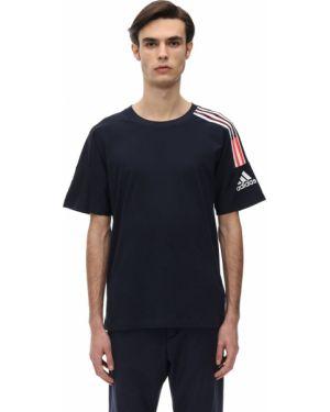 Koszula z nadrukiem z logo Adidas Performance