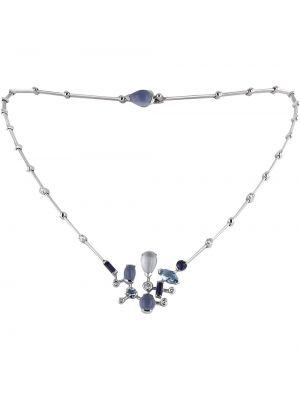 Ожерелье с камнями - белое Cartier