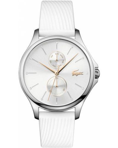 Кварцевые часы водонепроницаемые с круглым циферблатом Lacoste