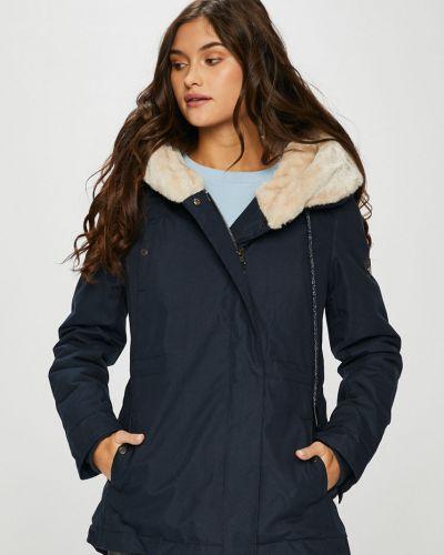 Утепленная куртка с карманами синий Haily's