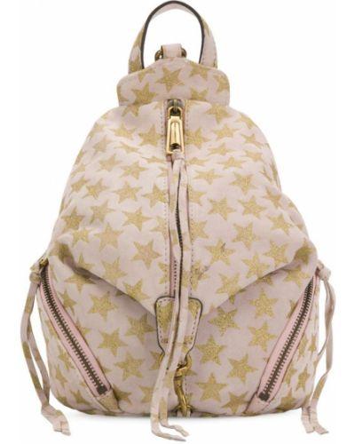 Бежевый рюкзак Rebecca Minkoff
