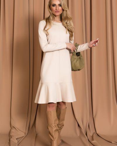 Трикотажное платье миди Leleya