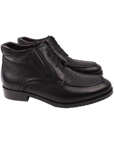 Кожаные ботинки - черные Lido Marinozzi