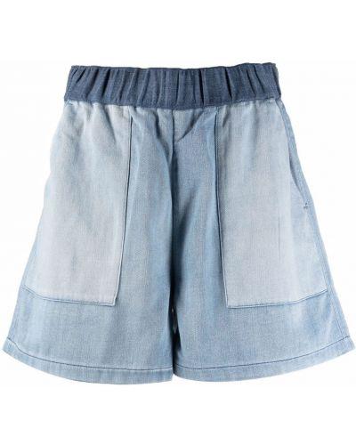 Свободные хлопковые шорты с карманами Closed