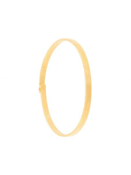 Золотистый желтый браслет позолоченный Wouters & Hendrix