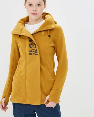 Желтая толстовка Snow Headquarter