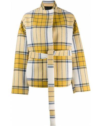 Желтая короткая куртка Christian Wijnants
