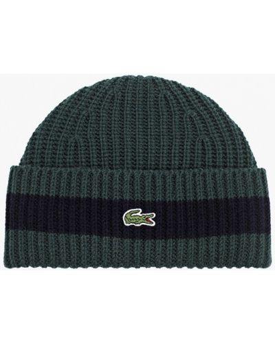 Шапка - зеленая Lacoste