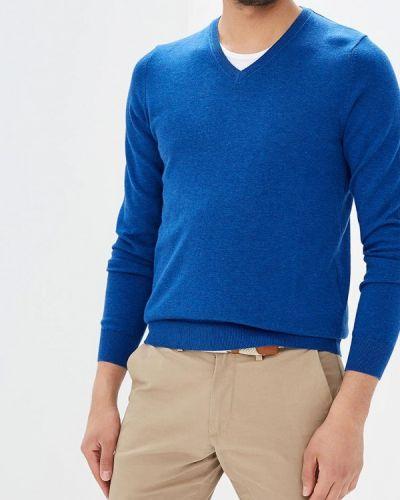Синий пуловер Celio