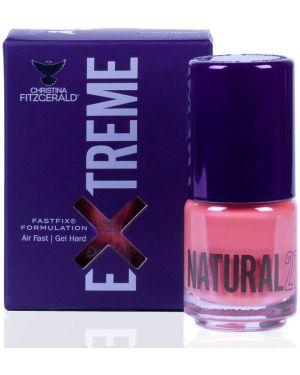 Кожаный розовый лак для ногтей свободного кроя Christina Fitzgerald