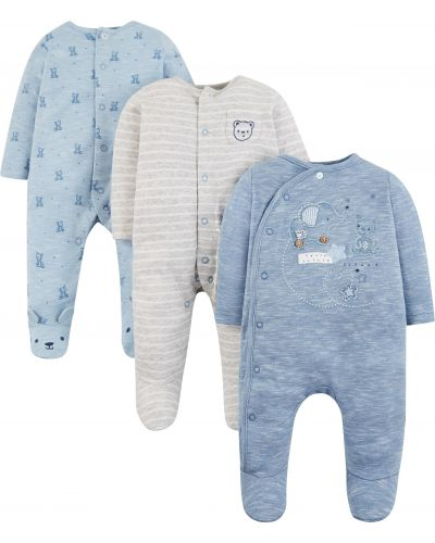 Ползунки маленький голубой Mothercare