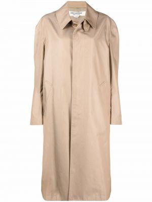 Бежевое пальто с карманами Junya Watanabe