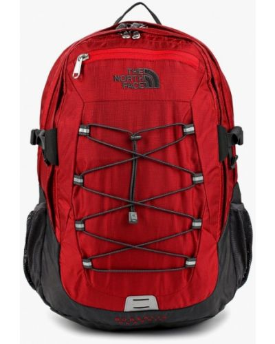Красный рюкзак городской The North Face