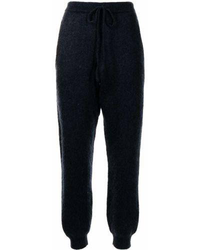 Трикотажные спортивные брюки - синие Rotate