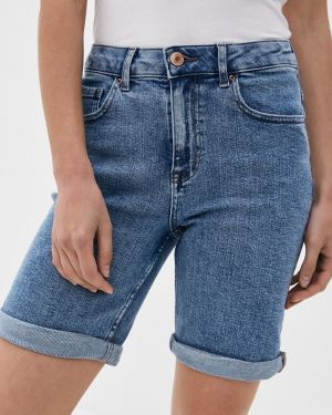 Синие джинсовые шорты со стразами Marks & Spencer