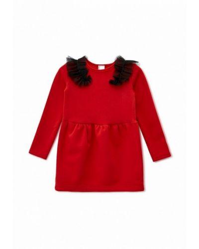 Повседневное красное платье Kids Couture