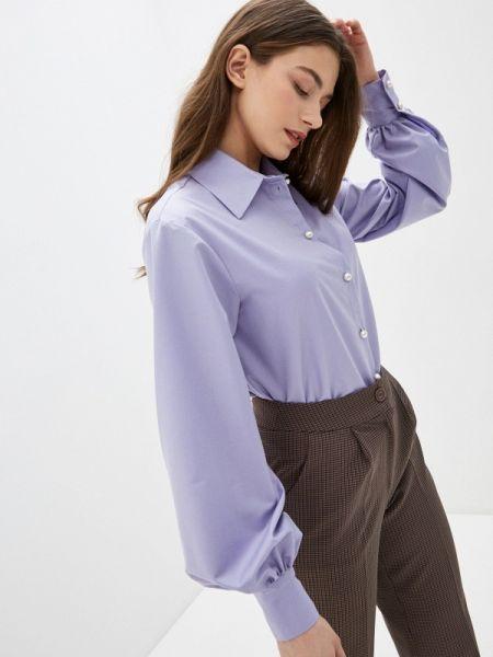 Блузка с длинным рукавом весенний фиолетовый Imocean