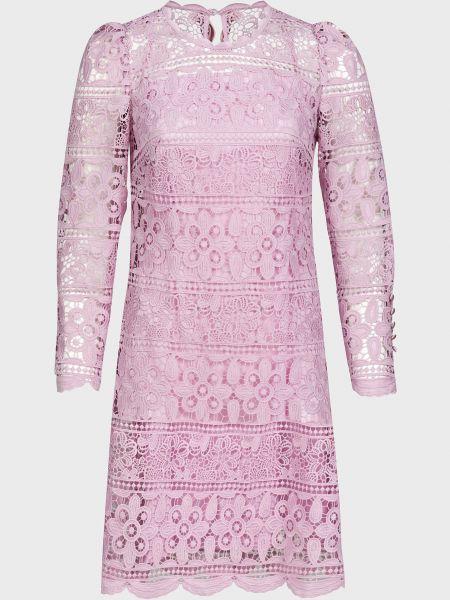 Розовое платье на молнии Luisa Spagnoli