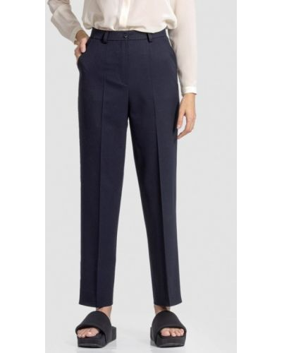 Классические брюки - синие энсо