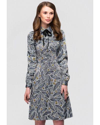 Платье осеннее черное 1001dress