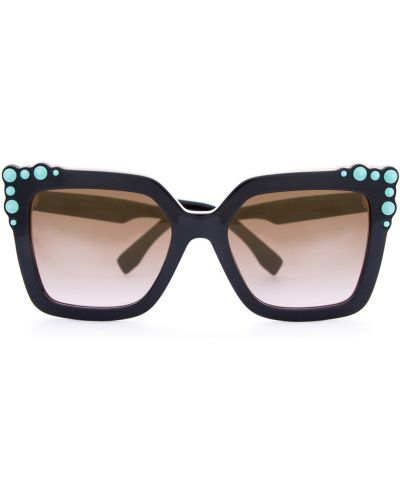 Солнцезащитные очки с градиентом с логотипом Fendi (sunglasses)