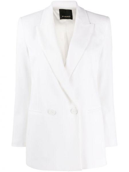 Классический пиджак в полоску приталенный Pinko