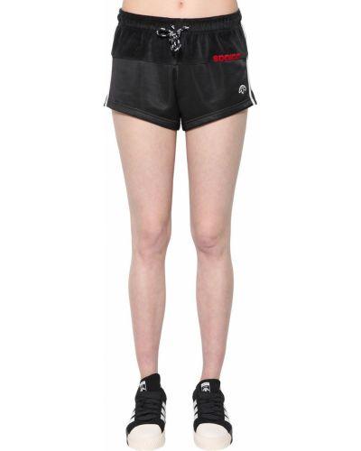 Шорты в полоску с завязками Adidas Originals By Alexander Wang