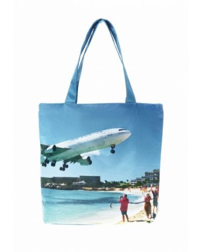Пляжная сумка шелковая Живой шелк