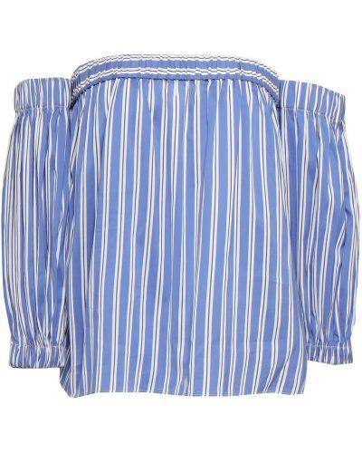 Niebieska bluzka w paski Milly
