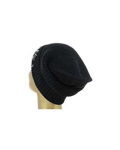 Черная шапка Armani Jeans