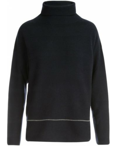 Niebieski sweter w paski Fabiana Filippi