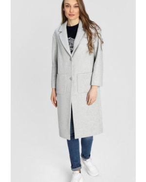 Пальто шерстяное с воротником Ostin