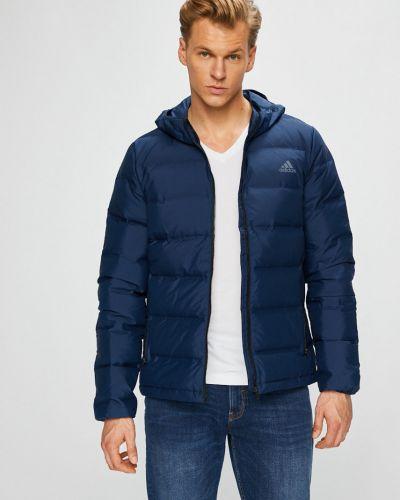 Утепленная куртка с капюшоном укороченная Adidas Performance