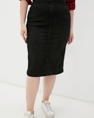 Черная джинсовая юбка Madeleine