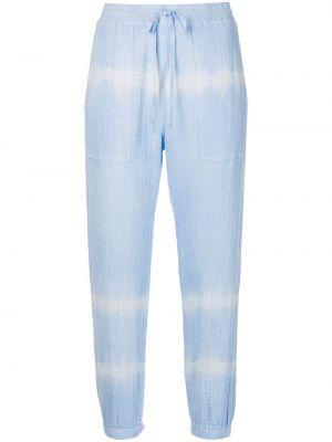 Укороченные брюки - синие Raquel Allegra