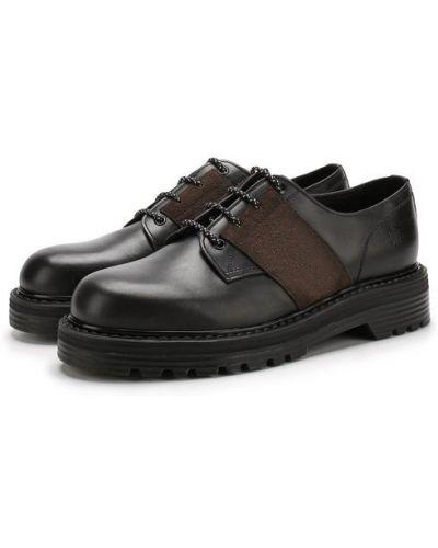 Кожаные туфли на шнуровке Premiata
