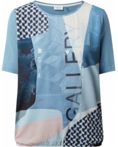 Bluzka z wiskozy - niebieska Gerry Weber