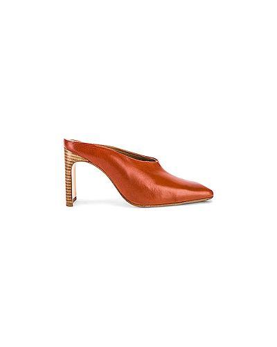 Мюли на каблуке Miista
