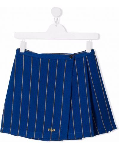 Spódniczka mini - niebieska Philosophy Di Lorenzo Serafini Kids