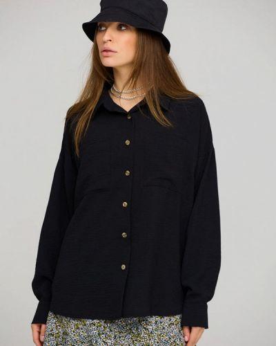 Рубашка с длинным рукавом - черная Karree