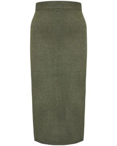 Zielona spódnica ołówkowa Guess
